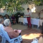 Alev presenting