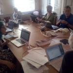 Prose group at work